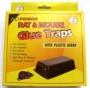 Rat & Mouse Plastic Bait Station (2-pack)